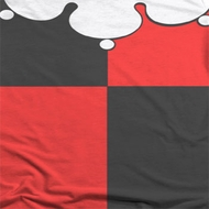 Harley Quinn Costume Sublimation Shirts