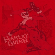 Harley Quinn Faded Sketch Shirts