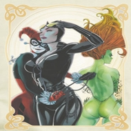 Harley Quinn Sirens Picture Shirts