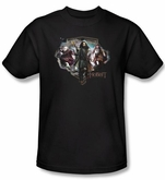 Hobbit Kids Shirt Movie Unexpected Journey Loyalty Dwarves Black Tee