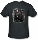Hobbit Kids Shirt Unexpected Journey Loyalty Gandalf Charcoal Tee