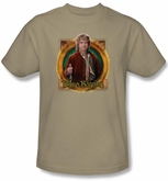 Hobbit Kids Shirt Unexpected Journey Loyalty Mr Baggins Sand Tee