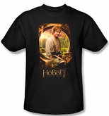 Hobbit Shirt Movie Unexpected Journey Loyalty Bilbo Poster Adult Tee