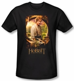 Hobbit Shirt Movie Unexpected Journey Loyalty Bilbo Poster Slim Fit