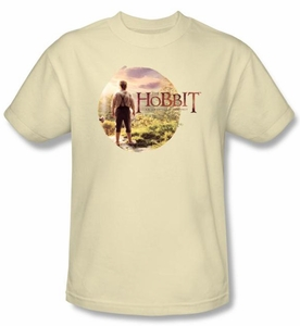Hobbit Shirt Movie Unexpected Journey Loyalty Circle Cream Adult Tee