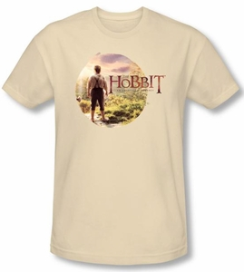 Hobbit Shirt Movie Unexpected Journey Loyalty Circle Cream Slim Fit