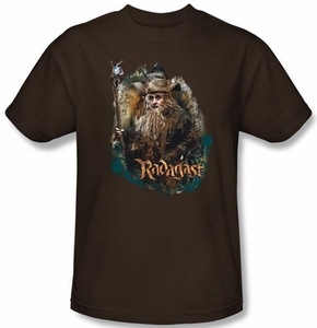 Hobbit Shirt Movie Unexpected Journey Loyalty Radagast Brown Adult Tee