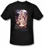 Hobbit Shirt Movie Unexpected Journey Loyalty Rivendell Black Adult