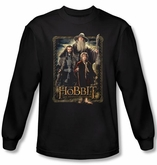 Hobbit Shirt Movie Unexpected Journey Loyalty Three Black Long Sleeve