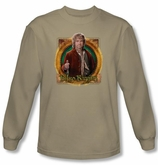 Hobbit Shirt Unexpected Journey Loyalty Mr Baggins Sand Long Sleeve