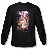 Hobbit Shirt Unexpected Journey Loyalty Rivendell Black Long Sleeve