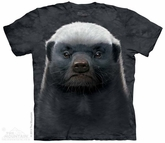 Honey Badger Shirt Tie Dye Adult T-Shirt Tee