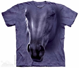 Horse Head Shirt Tie Dye Adult T- Shirt Tee