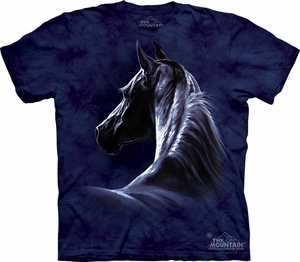 Horse Shirt Tie Dye Moonlit T-shirt Adult Tee