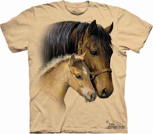 Horse Shirt Tie Dye T-shirt Gentle Touch Adult Tee