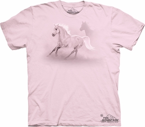 Horse Shirt Tie Dye The Fastest Horses T-shirt Adult Tee