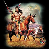 Horse T-shirt - Spirit Hunters American Indian Horse Tee