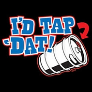 I'd Tap 'Dat Drinking Beer Keg Funny T-shirt