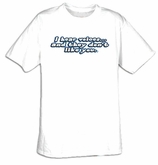I Hear Voices Funny Adult T-shirt Tee Shirt