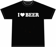 I Love Beer Funny Drinking Party T-shirt