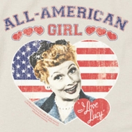 I Love Lucy All American Shirts
