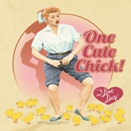 I Love Lucy Cute Chick Shirts