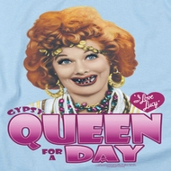I Love Lucy Gypsy Queen Shirts