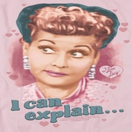 I Love Lucy I Can Explain Shirts