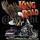 Indian Motorcycle T-shirt - King of the Road Biker Tee