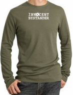 INNOCENT BYSTANDER Long Sleeve Thermal T-Shirts