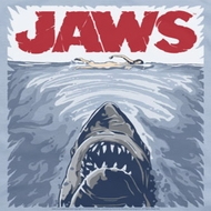 Jaws Graphic Poster Shirts