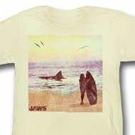 Jaws Juniors Shirt Surfside Yellow Tee T-Shirt