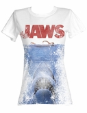 Jaws Juniors T-shirt In Japan Classic White Tee Shirt