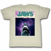 Jaws Shirt In Space Natural T-Shirt