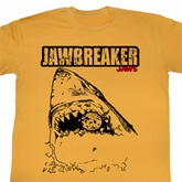 Jaws Shirt Jawbreaker Adult Orange Tee T-Shirt