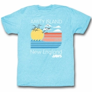 Jaws Shirt New England Heather Blue T-Shirt