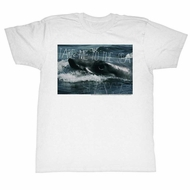 Jaws Shirt Take Me To The Sea White T-Shirt