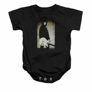 Joan Jett Baby Romper Pose Black Infant Babies Creeper