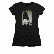 Joan Jett Shirt Juniors Pose Black T-Shirt