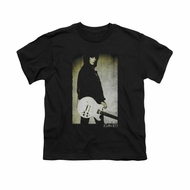 Joan Jett Shirt Kids Pose Black T-Shirt