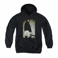 Joan Jett Youth Hoodie Pose Black Kids Hoody