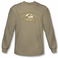 Jurassic Park T-shirt Survival Training Camp Sand Long Sleeve Tee