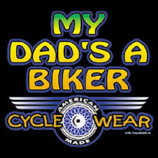 Kids Biker T-shirt - My Dad's a Biker Youth Tee