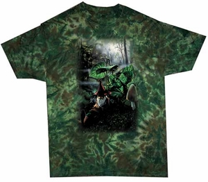 Kids Tie Dye T-shirt - Sleeping Gnome Tee