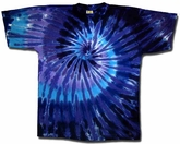 Kids Tie Dye T-shirt - Youth Twilight Tee
