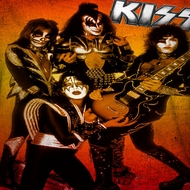 Kiss Fire Pose Sublimation Shirts