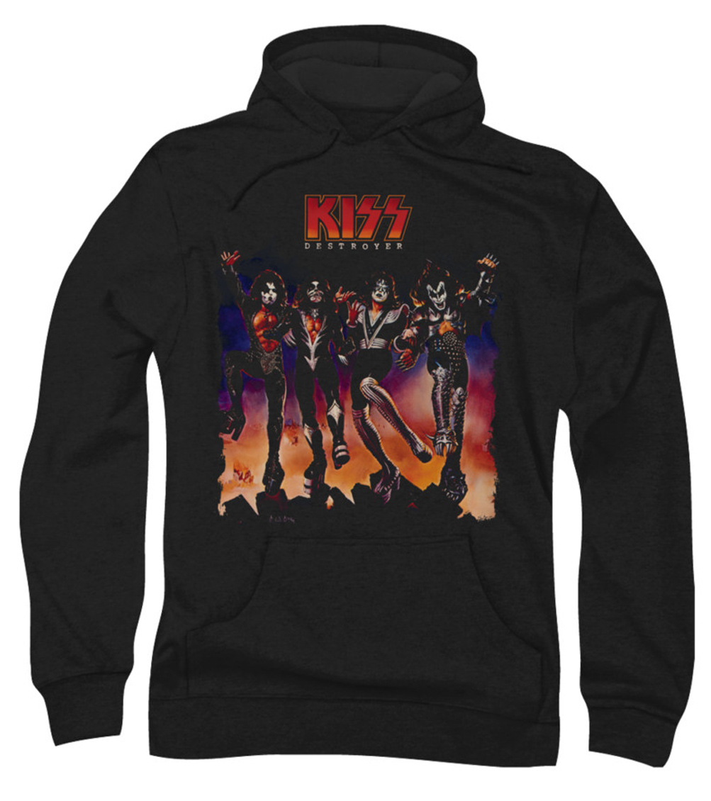 Rock band hoodies