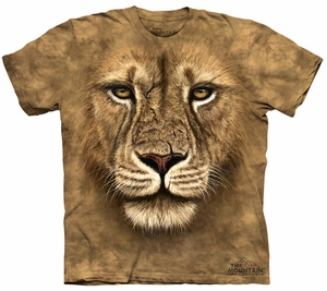 Lion Kids Shirt Tie Dye Warrior T-shirt Tee Youth