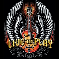 Live to Play Guitar T-shirt - Guitarist Musician Rock Tee