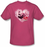 Lucy Shirt - Happy Anniversary Adult Hot Pink Tee